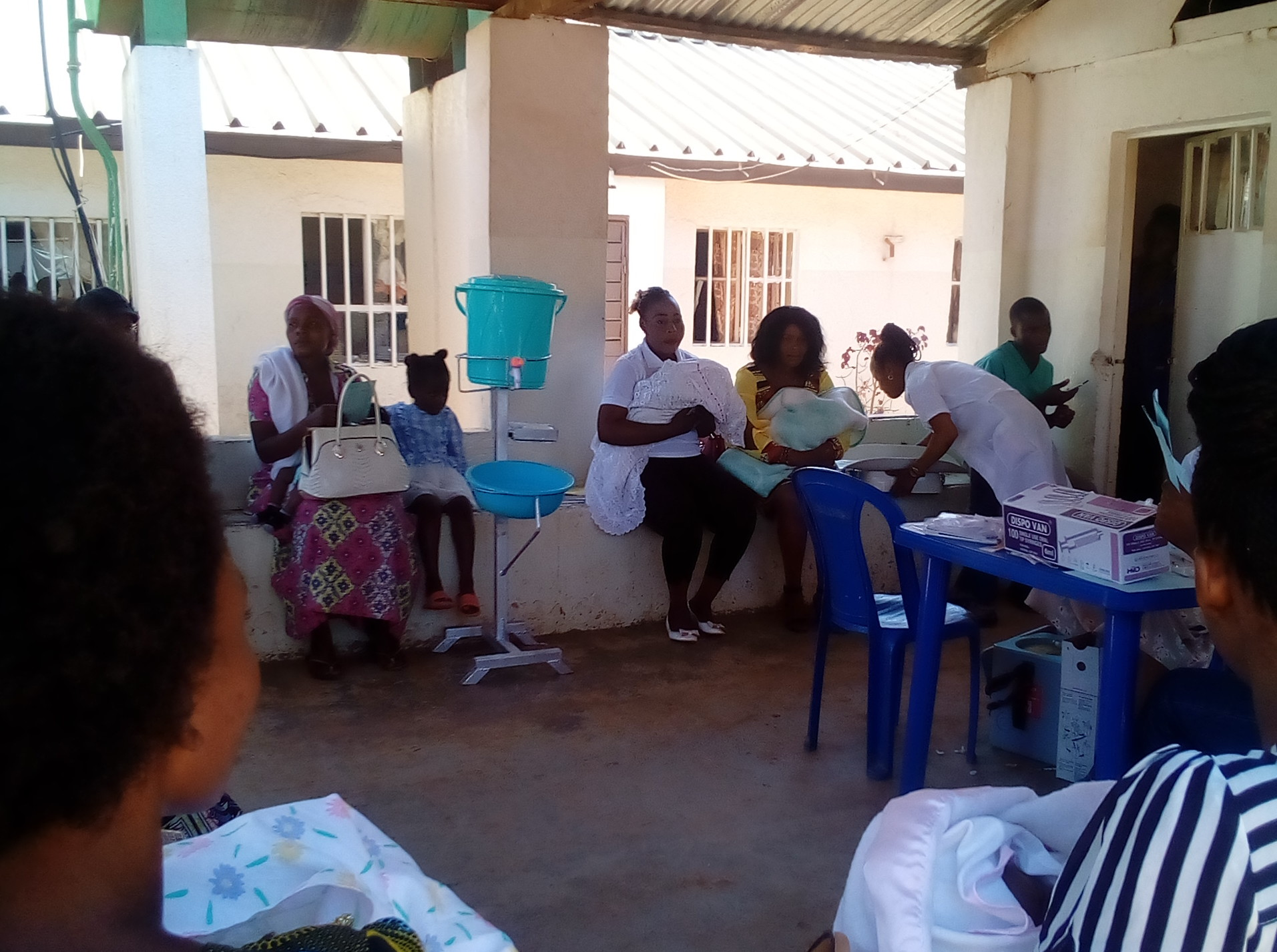 Vaccinations à Mbujimayi